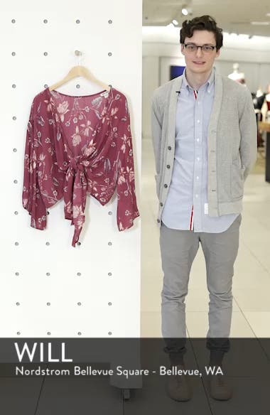 Sometimes Yours Knot Front Top, sales video thumbnail