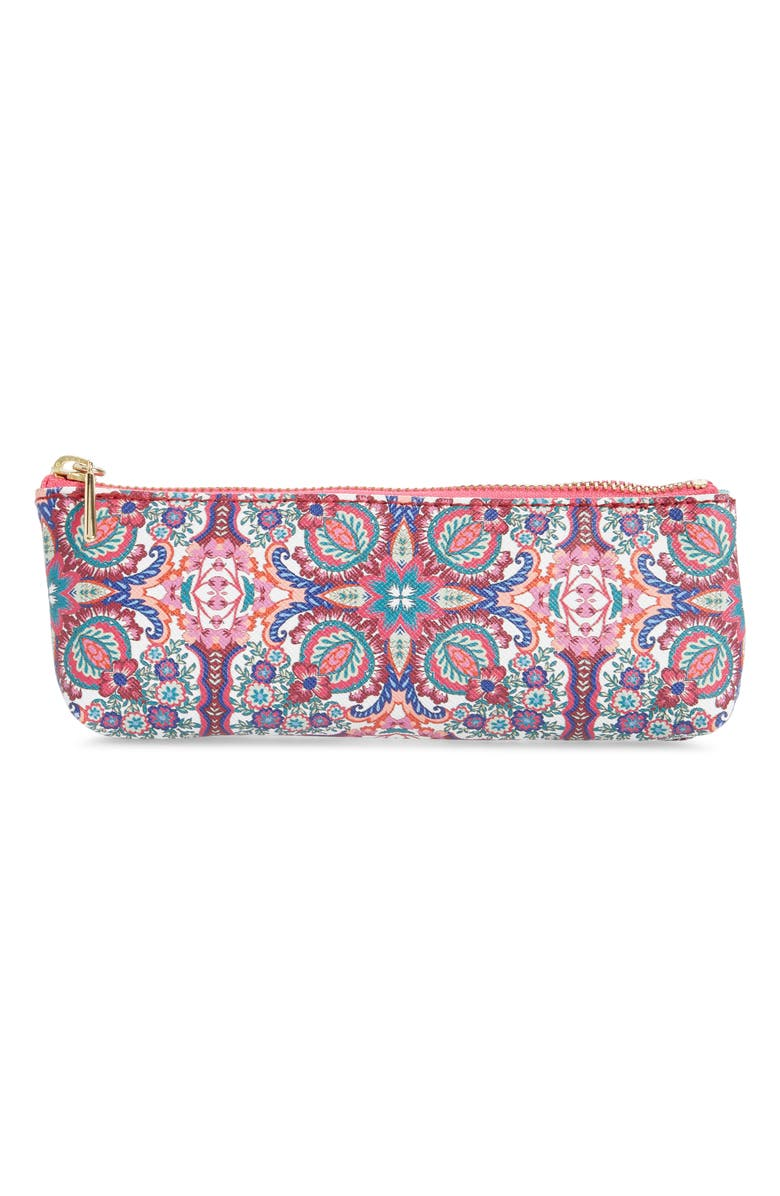 ANTHROPOLOGIE Ania Pencil Case, Main, color, PINK