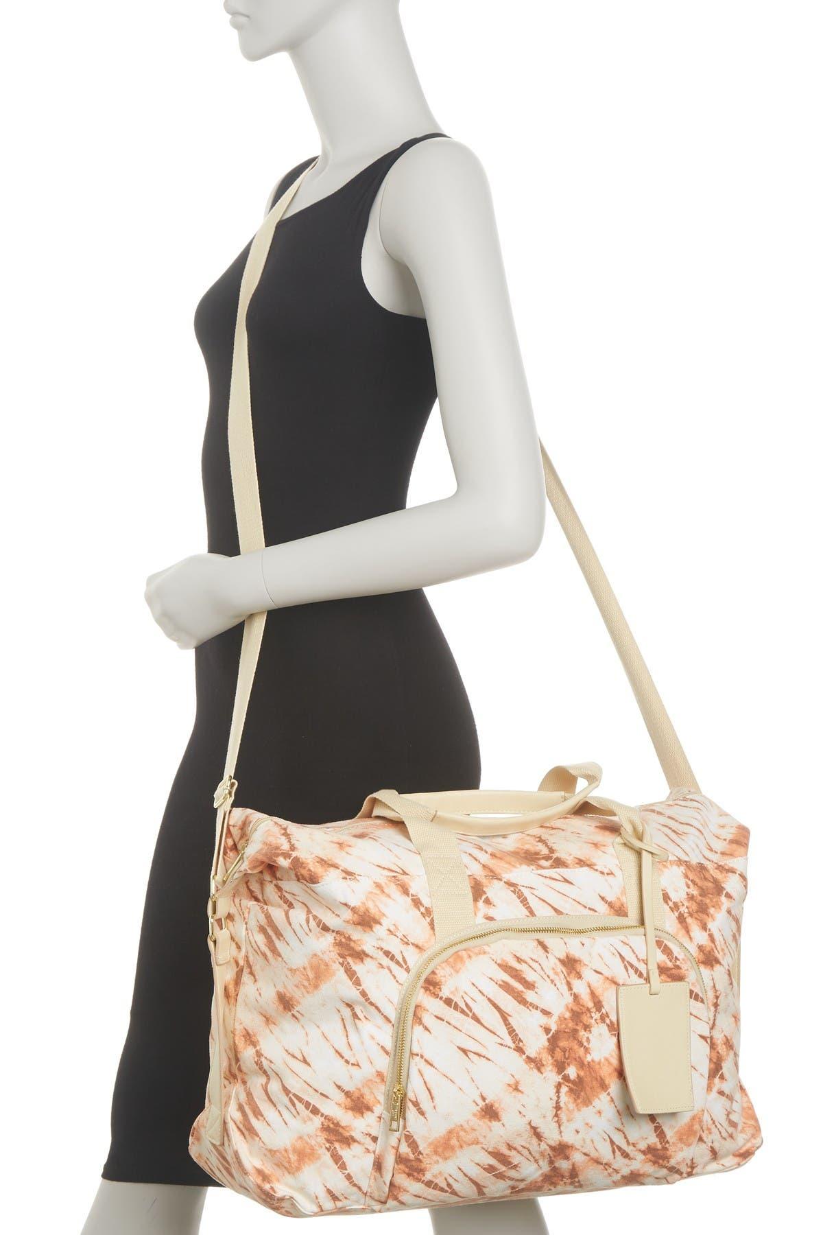 Image of Madden Girl Canvas Weekend Patterned Bag
