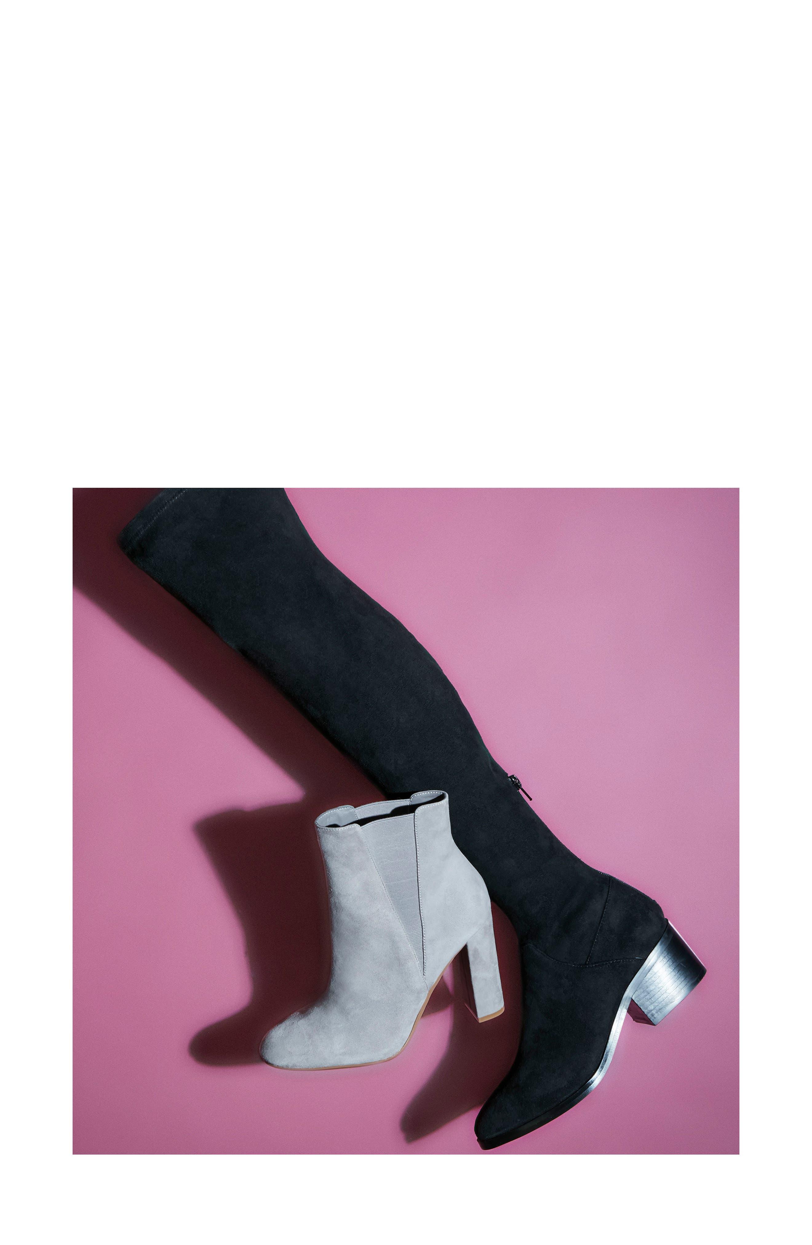 ,                             Effect Block Heel Bootie,                             Alternate thumbnail 13, color,                             020