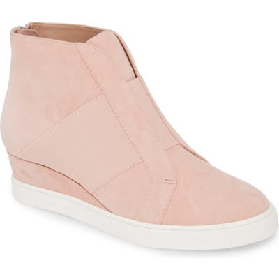 Linea Paolo Amber Wedge Sneaker, Pink