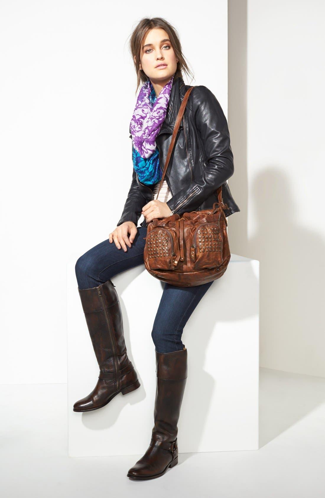 ,                             'Brooke' Drawstring Shoulder Bag, Medium,                             Alternate thumbnail 3, color,                             001