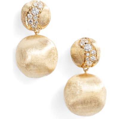 Marco Bicego Africa Constellation Diamond & 18K Gold Earrings