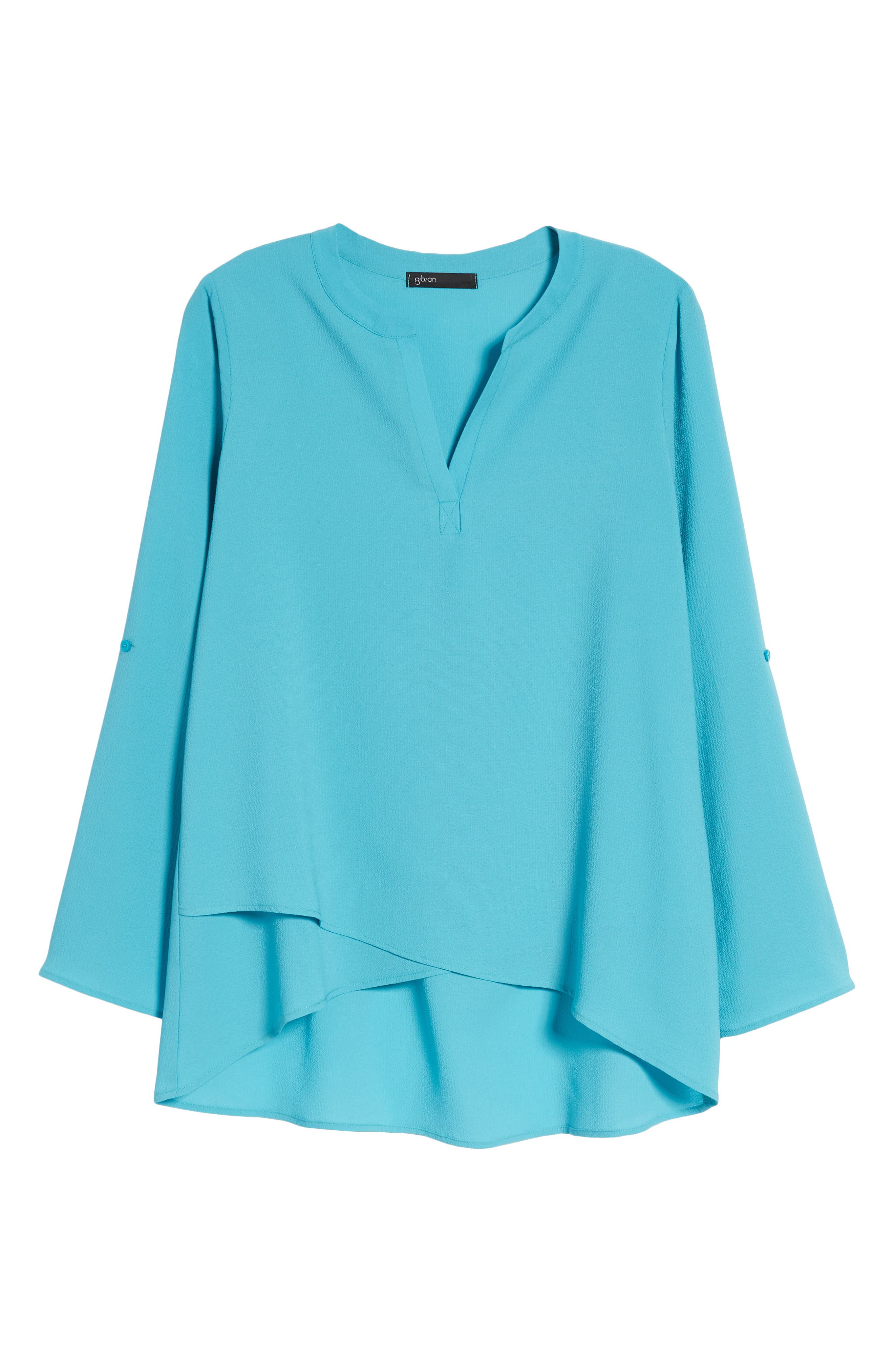 ,                             x International Women's Day Erin Cross Front Tunic Blouse,                             Alternate thumbnail 45, color,                             443