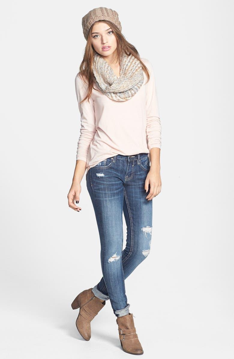 Rubbish<sup>®</sup> Tee & Vigoss Jeans, Main, color, 680