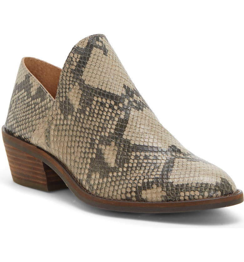 LUCKY BRAND Fausst Bootie, Main, color, CHINCHILLA LEATHER