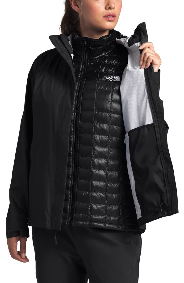 THE NORTH FACE Venture 2 Waterproof Jacket, Main, color, TNF BLACK/ TNF BLACK
