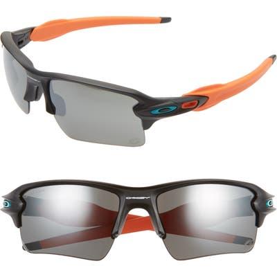 Oakley Nfl Flak 2.l 5m Polarized Sunglasses - Miami Dolphins