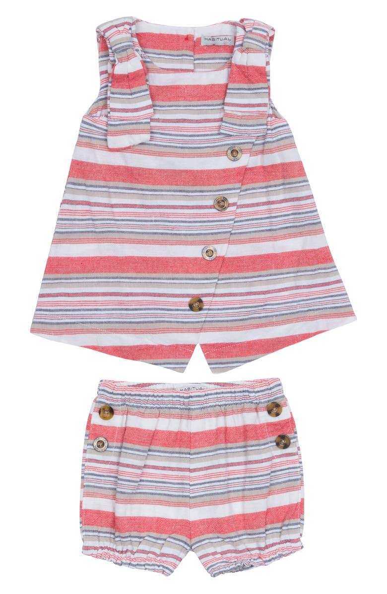 HABITUAL Kids Ginger Tank & Shorts Set, Main, color, 100