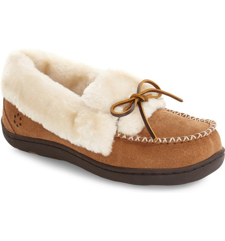 TEMPUR-PEDIC<SUP>®</SUP> Laurin Slipper, Main, color, HASH BROWN SUEDE