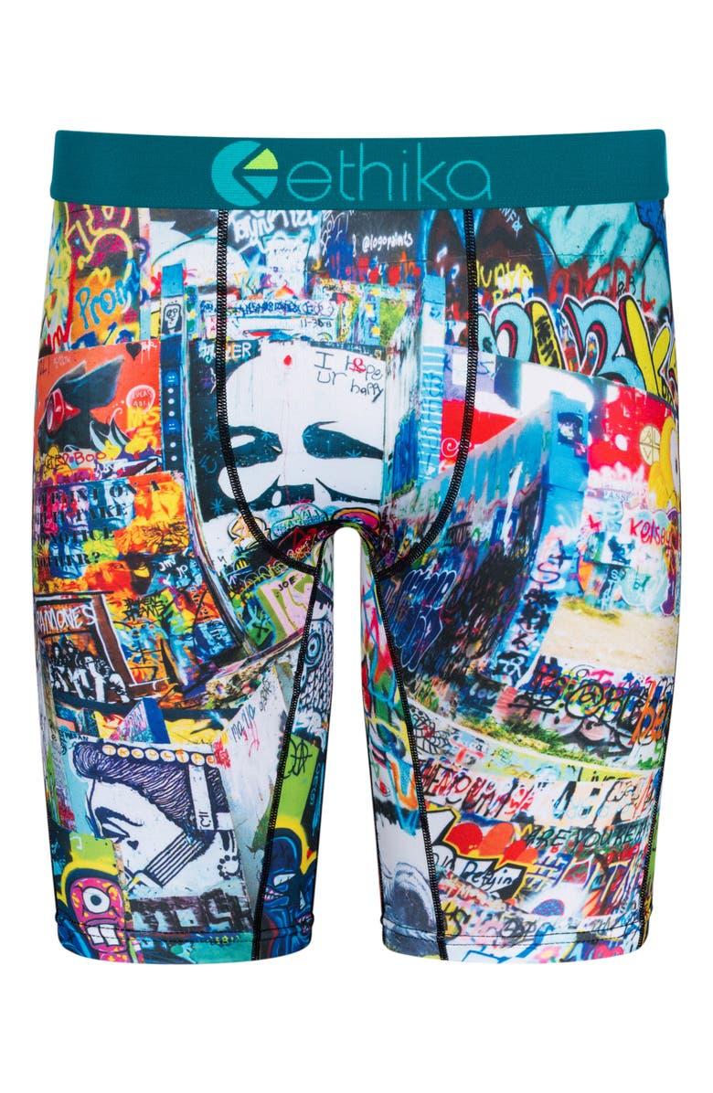 ETHIKA Austin Hope Graphic Boxer Briefs, Main, color, ASSORTED