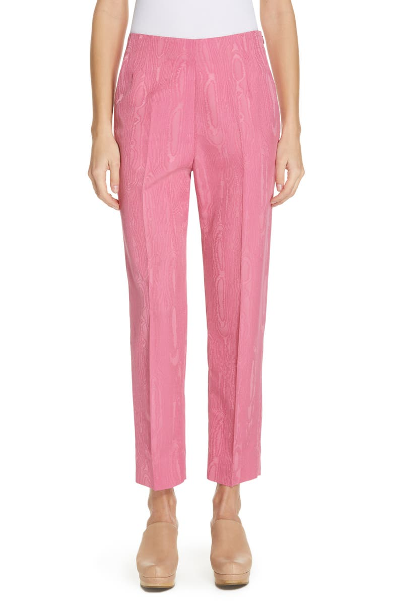 RACHEL COMEY Prime Wool Blend Moiré Pants, Main, color, 650