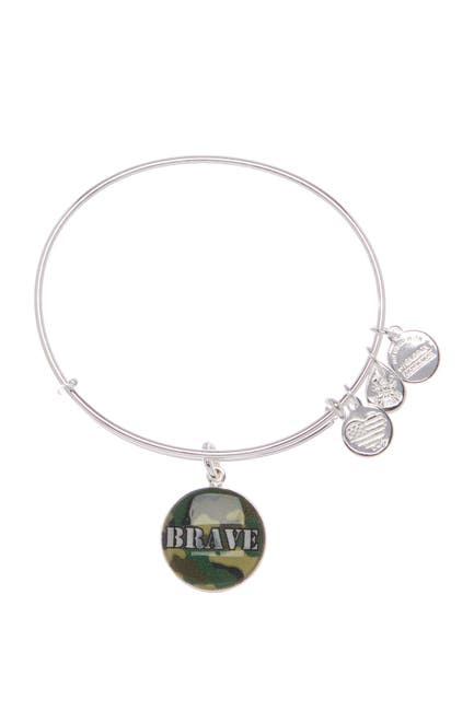Image of Alex and Ani Brave Charm Expandable Wire Bracelet