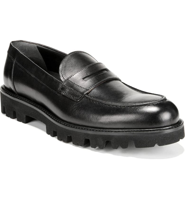 VINCE Comrade Loafer, Main, color, BLACK