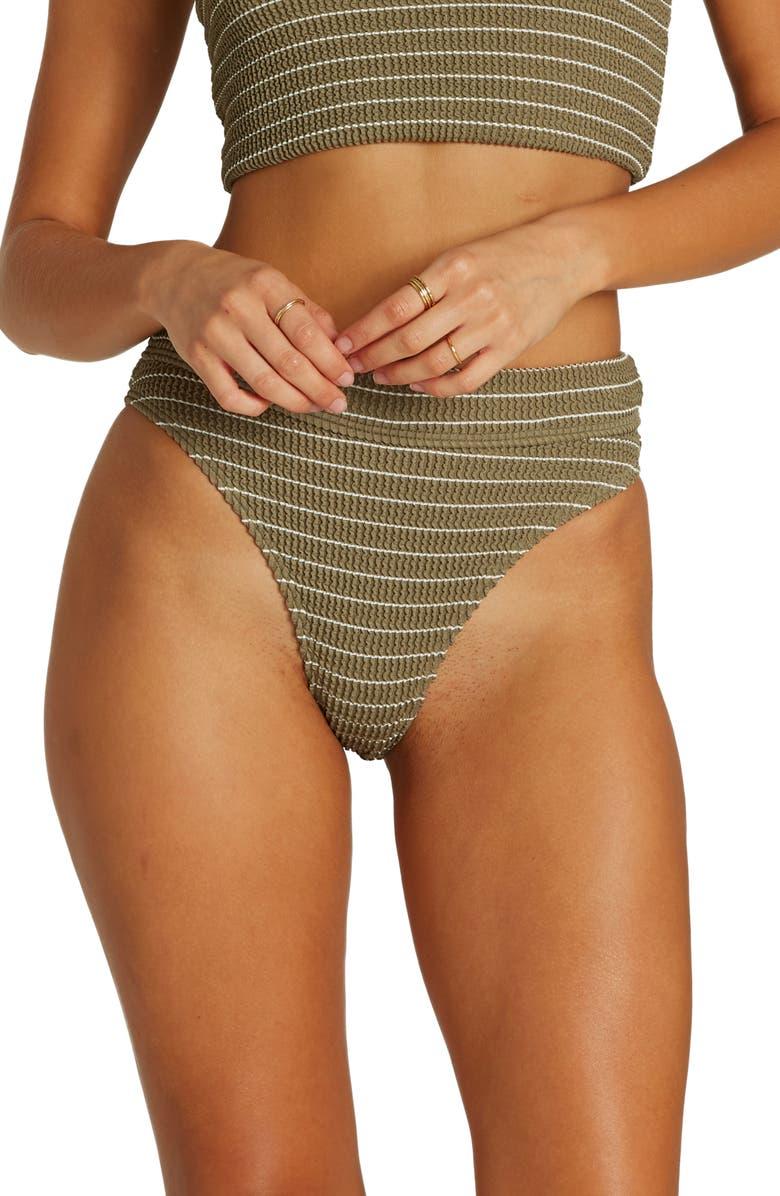 BILLABONG Summer High Maui Bikini Bottoms, Main, color, SAGE