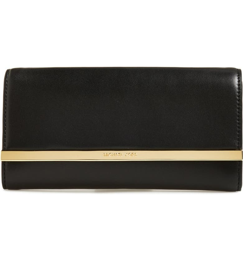MICHAEL MICHAEL KORS 'Lana' Clutch, Main, color, 001