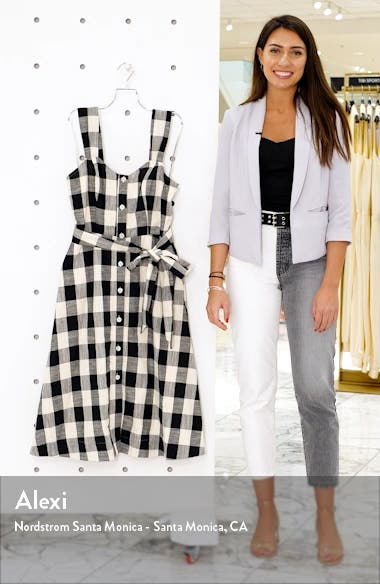 Gingham Cotton Sundress, sales video thumbnail