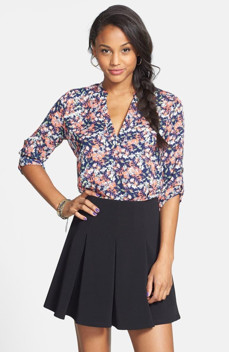 --- Pleated Skirt, Main, color, 001