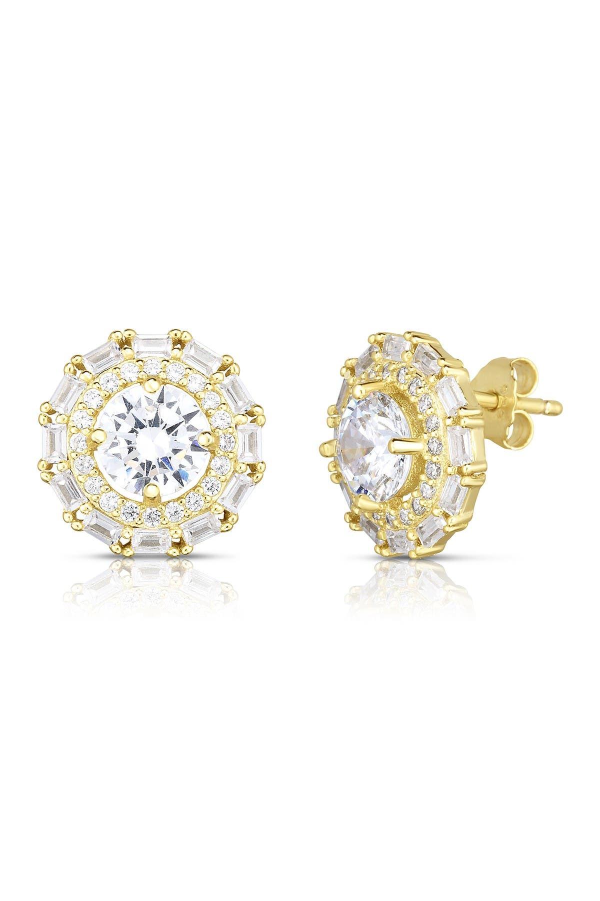 Image of Sphera Milano Gold Vermeil Stud Earrings