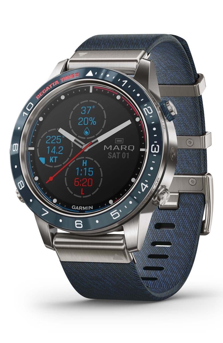 GARMIN MARQ Captain GPS Smart Watch, 46mm, Main, color, 400