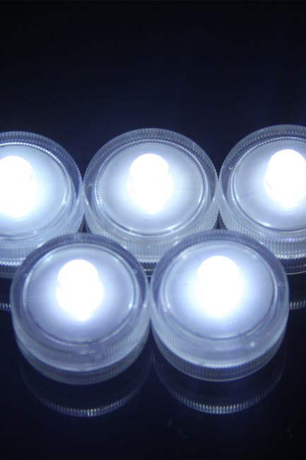 Image of Sorbus Submersible LED Tea Light - Pack of 36