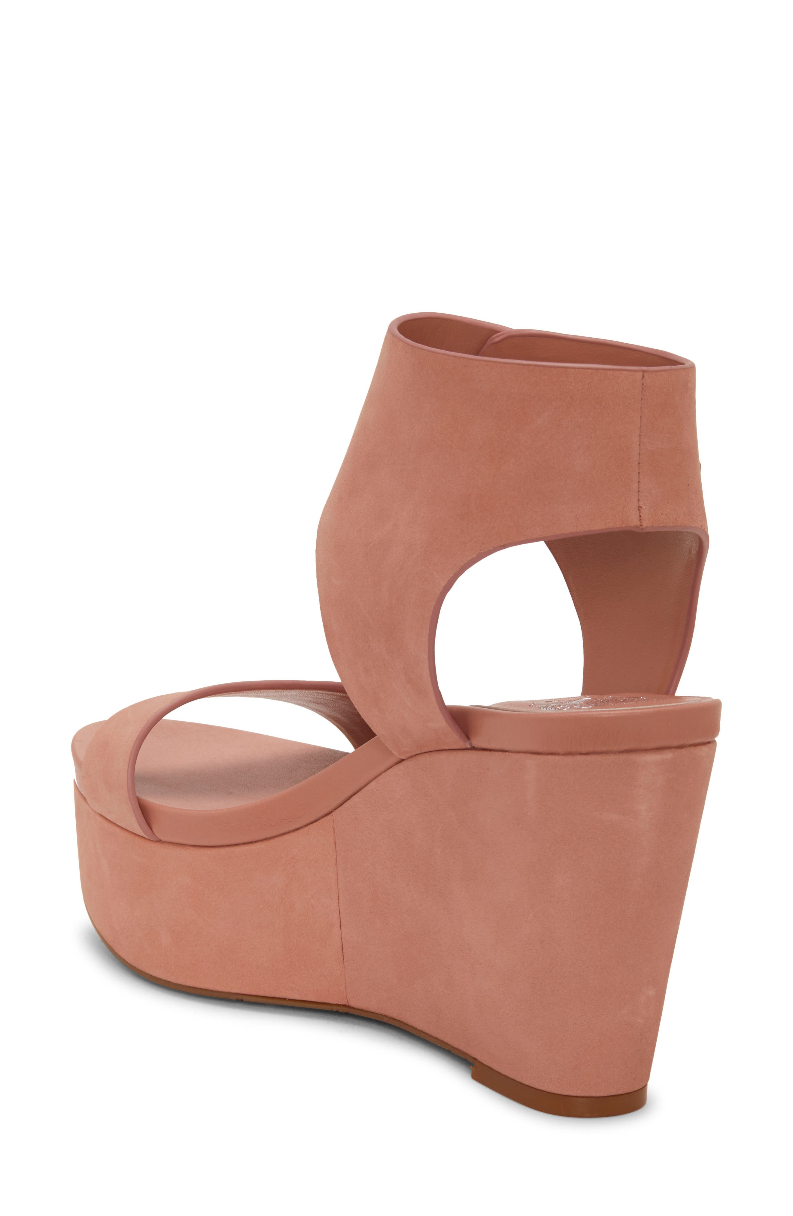 Vince Camuto   Velista Leather Wedge