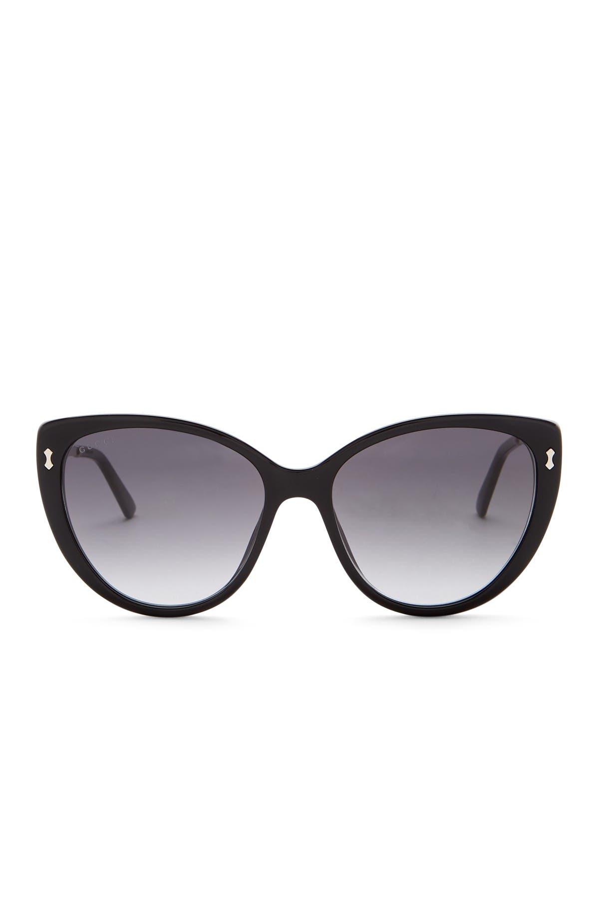 Image of GUCCI Women's 57mm Cat Eye Sunglasses