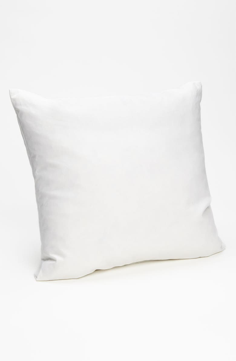 NORDSTROM AT HOME 18x18 Feather & Down Pillow Insert, Main, color, 100