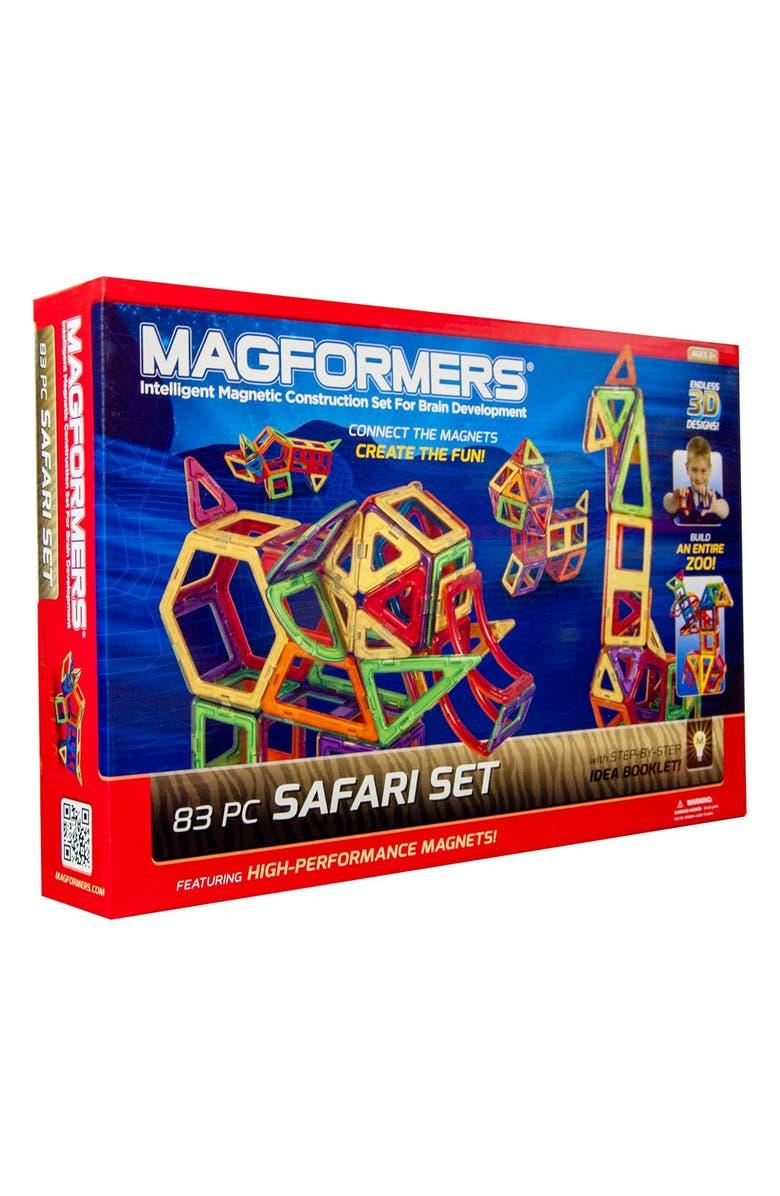 MAGFORMERS 'Safari' Construction Set, Main, color, MULTI
