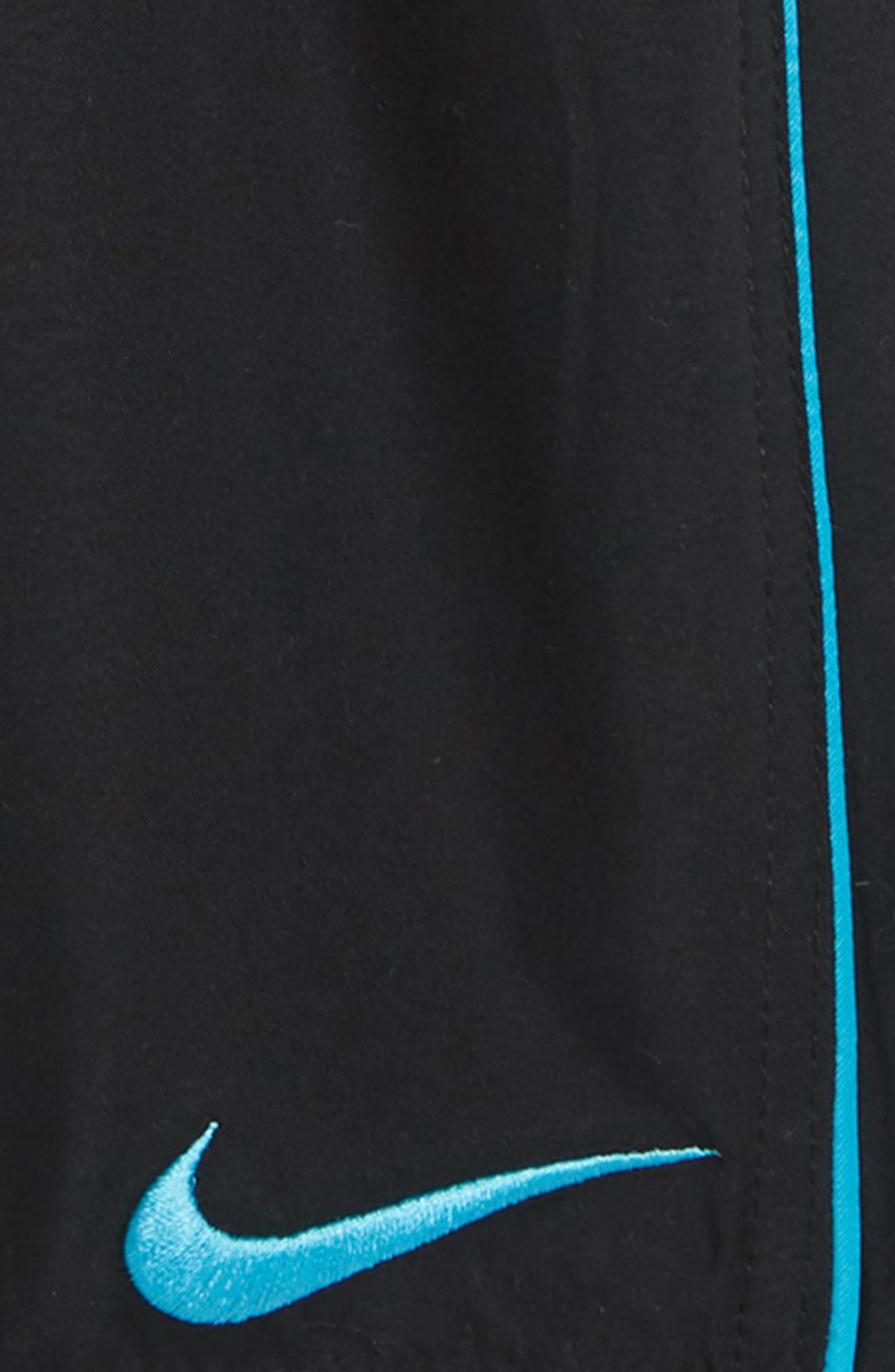 ,                             Lap Volley Swim Trunks,                             Alternate thumbnail 2, color,                             BLACK