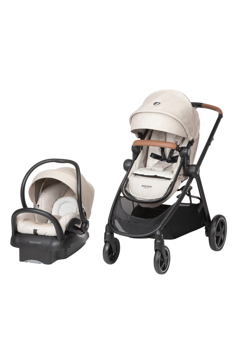 MAXI-COSI<SUP>®</SUP> Zelia Max 5-in-1 Modular Travel System, Main, color, NOMAD SAND