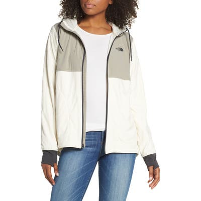 The North Face Mountain Insulated Zip Hooded Jacket, Grey