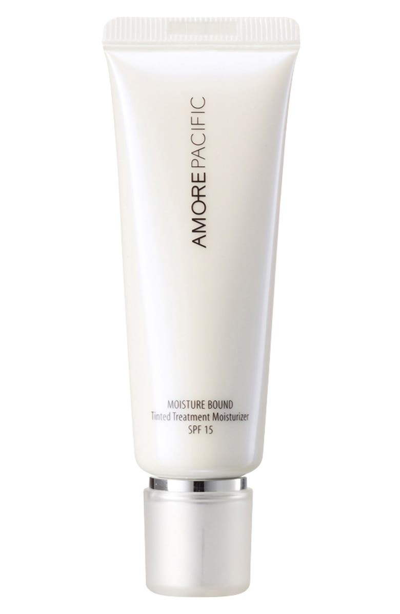 AMOREPACIFIC 'Moisture Bound' Tinted Moisturizer SPF 15, Main, color, 102