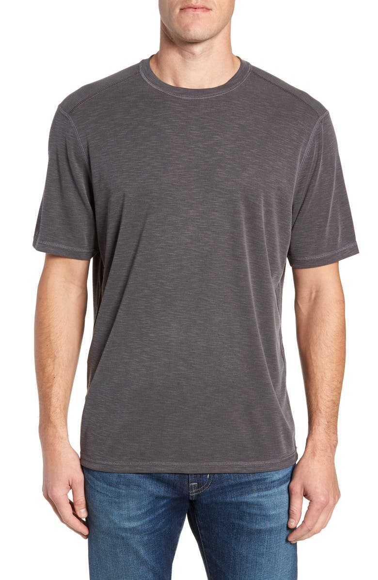 TOMMY BAHAMA Flip Tide T-Shirt, Main, color, BLACK