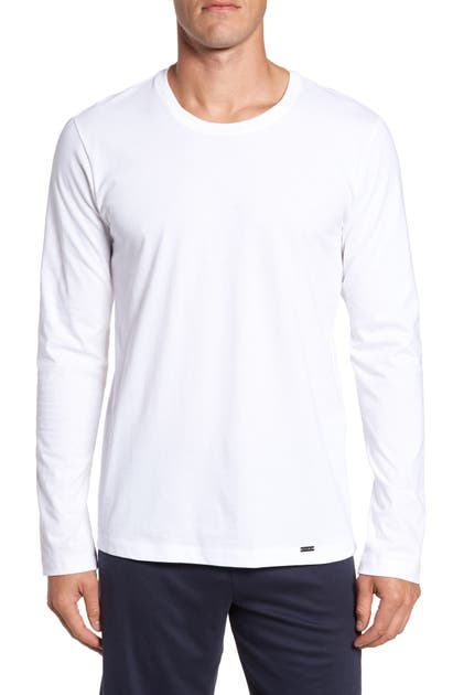 Hanro T-shirts LIVING LONG SLEEVE T-SHIRT