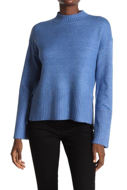 Image of Design History Mock Neck Knit Sweater