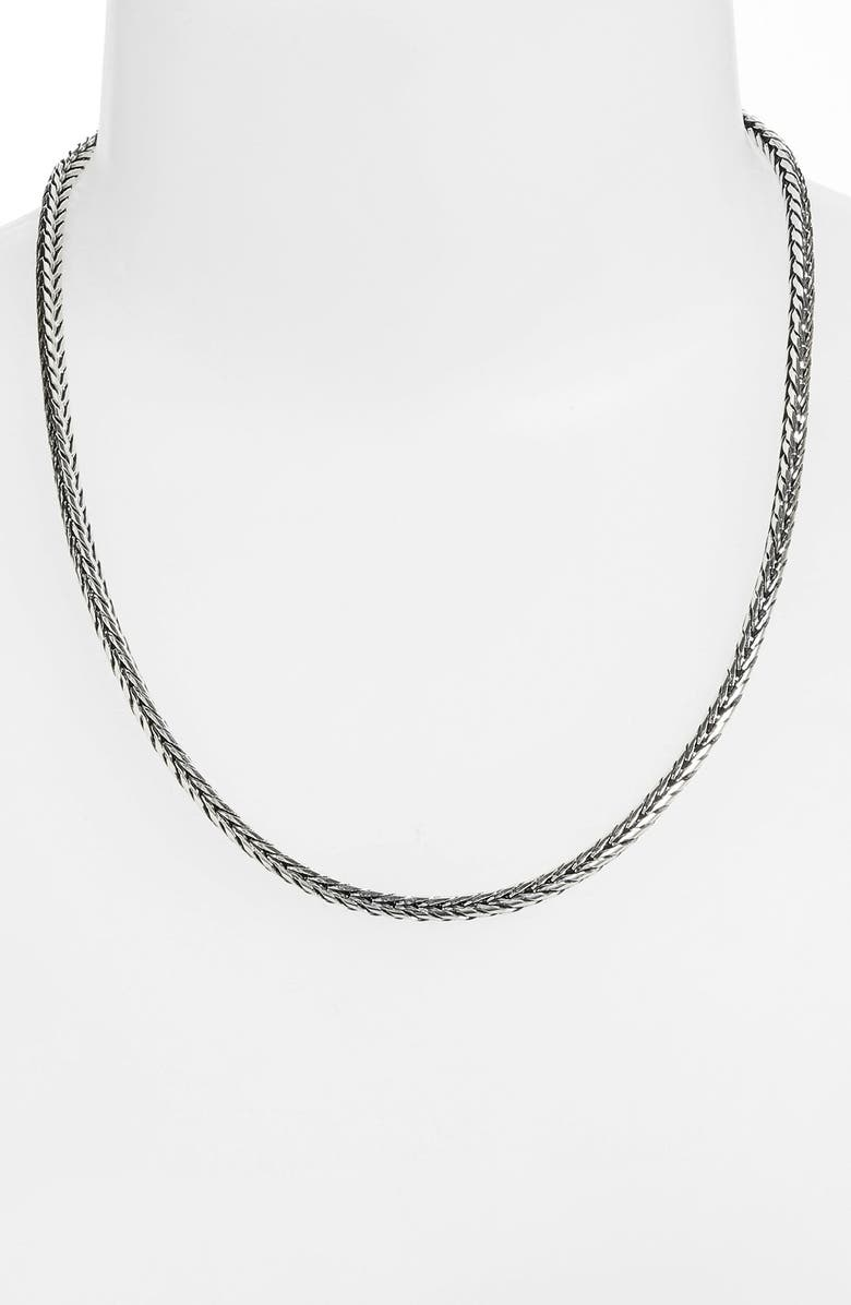 KONSTANTINO Sterling Silver Chain, Main, color, SILVER