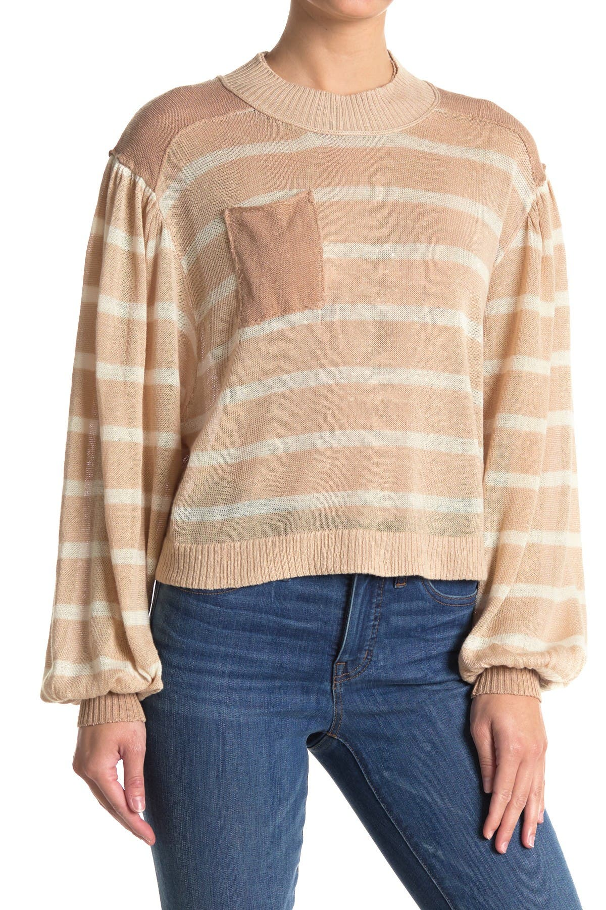 Image of Free People Between The Lines Pullover Sweater