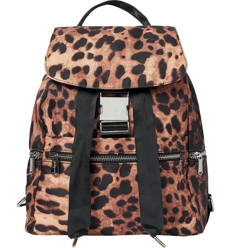 URBAN ORIGINALS Soulful Backpack, Main, color, LEOPARD