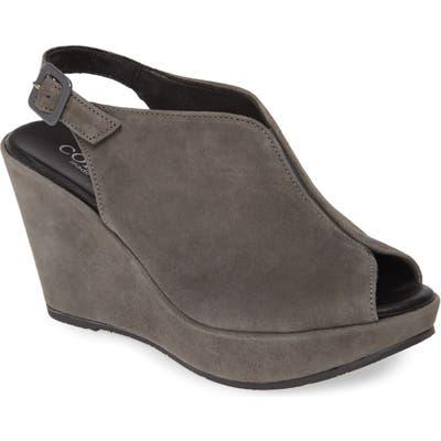 Cordani Raina Wedge Sandal - Grey