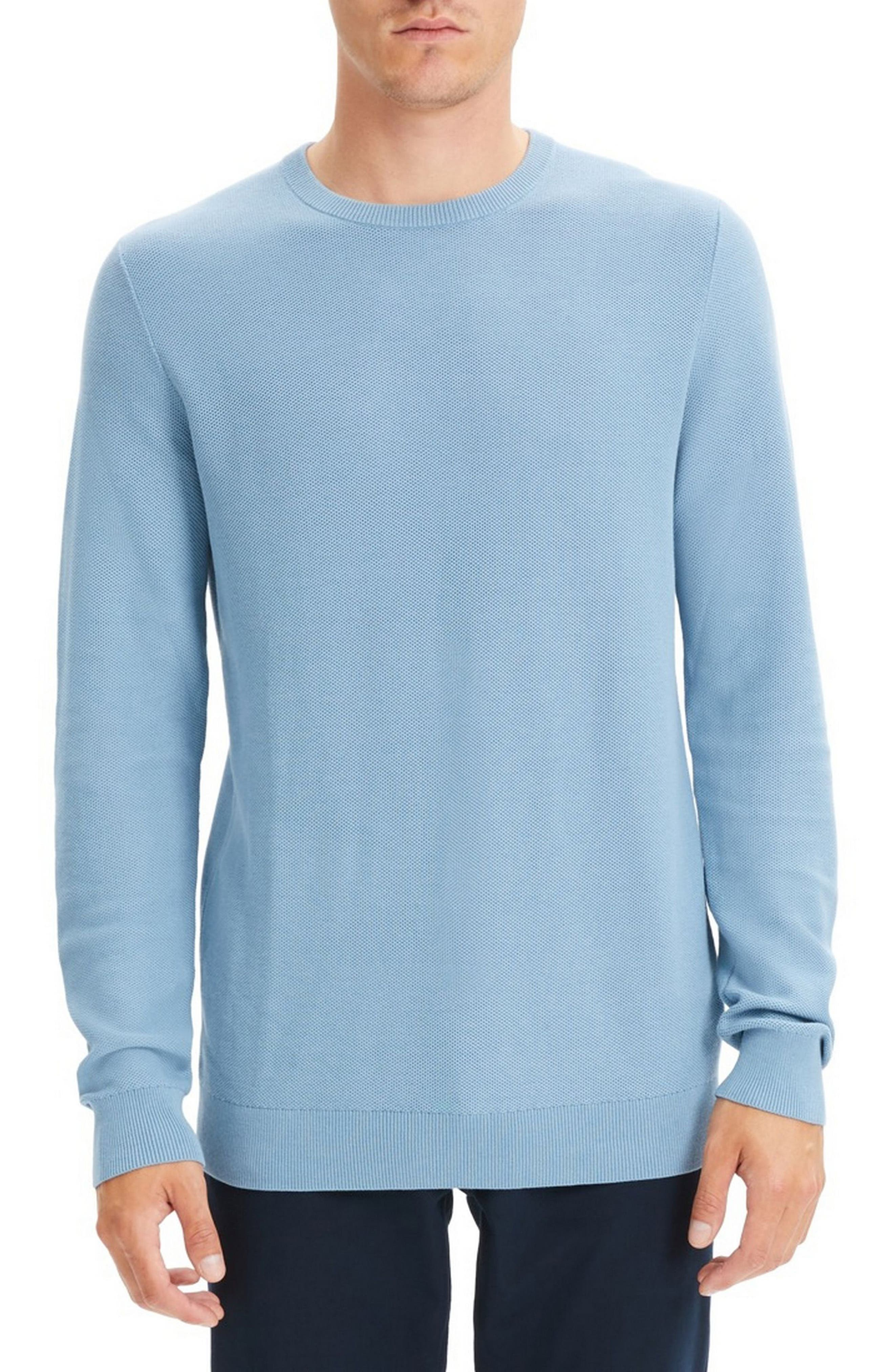 Theory Riland Breac Slim Fit Sweater, Blue