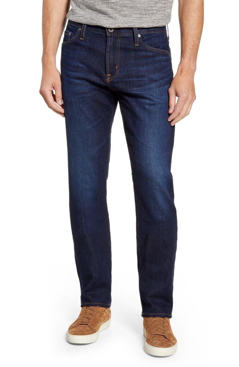 AG Everett Slim Straight Leg Jeans, Main, color, SERIES