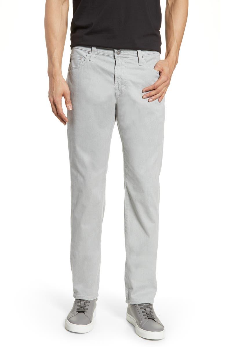 AG Tellis Herringbone Slim Fit Pants, Main, color, MISTY MIRROR