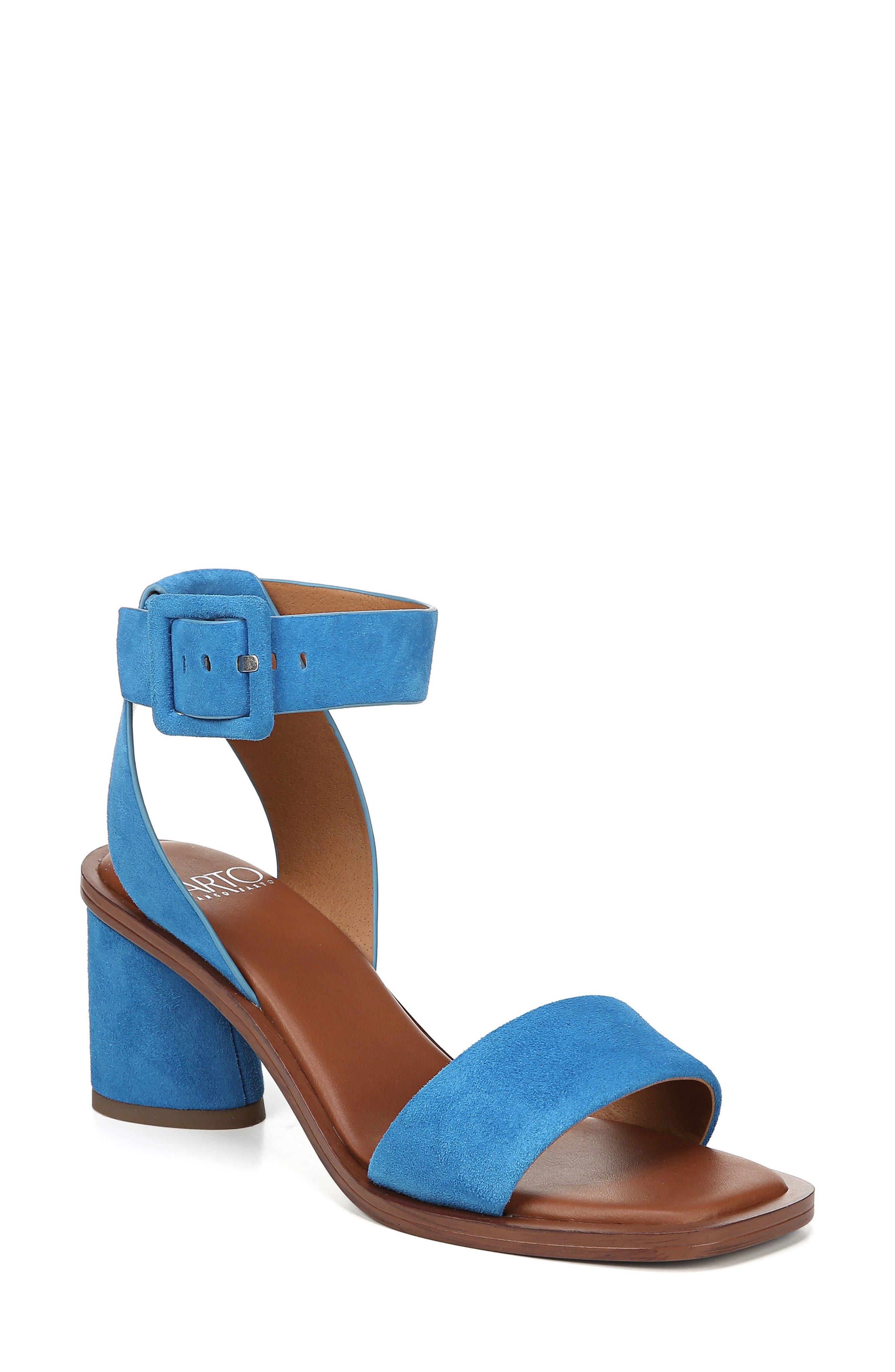 Sarto By Franco Sarto Risa Strap Sandal- Blue
