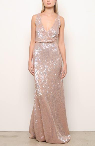 Sequin A-Line Gown, video thumbnail