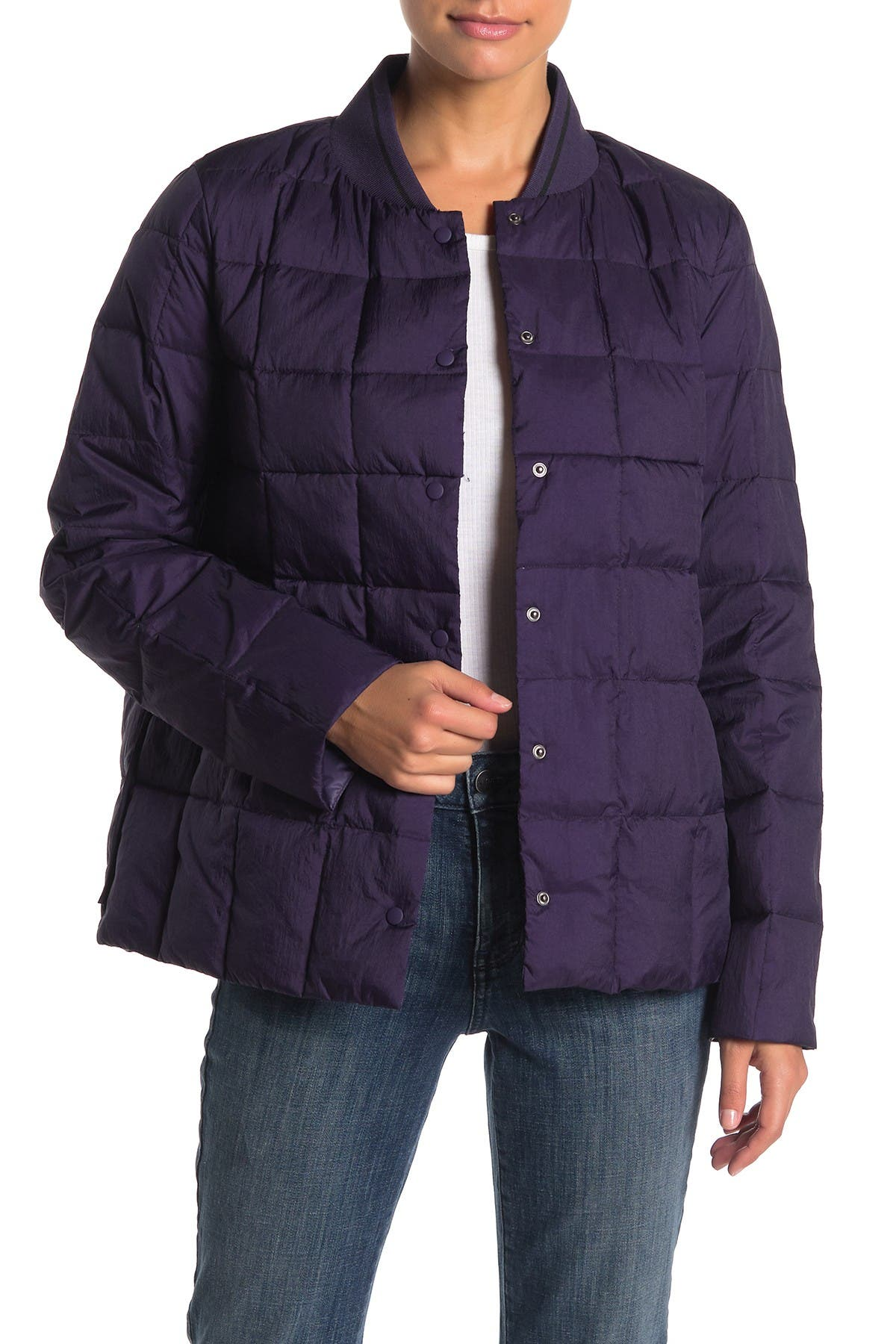 Image of Trina Turk Solid Puffer Down Jacket