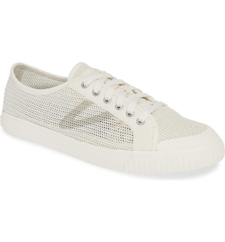 TRETORN Tournet Woven Sneaker, Main, color, VINTAGE WHITE