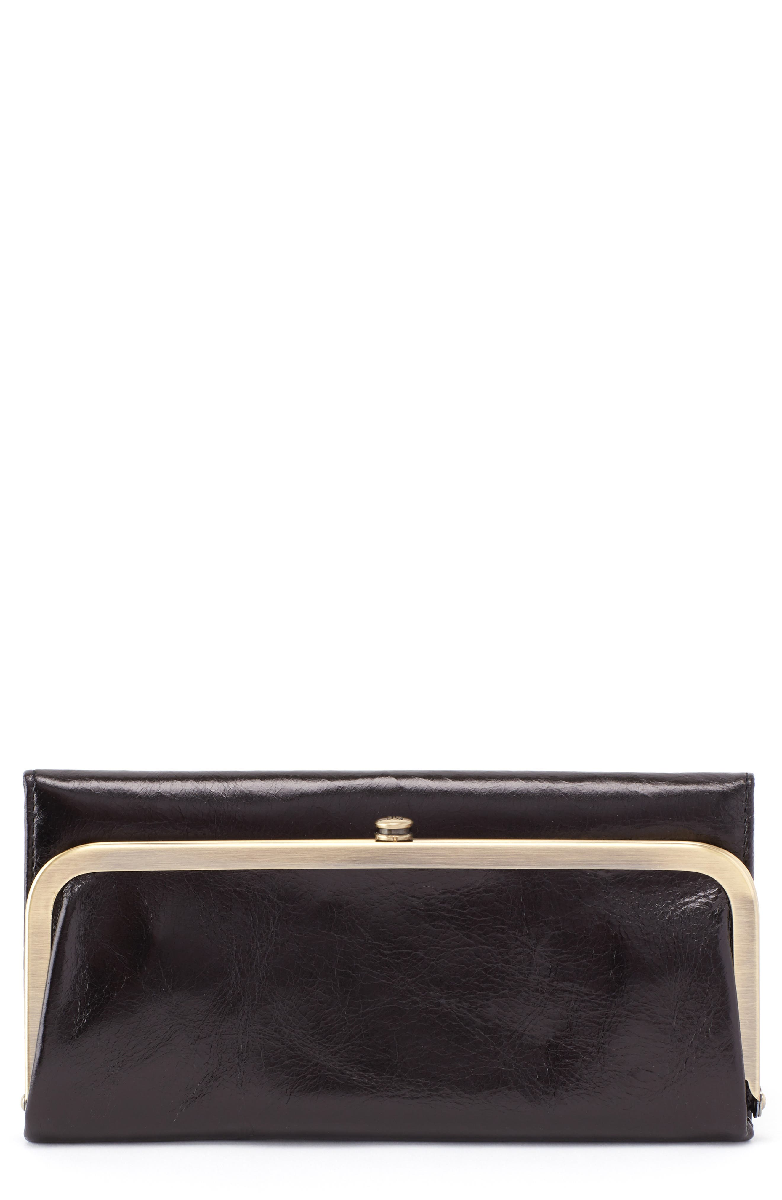 Rachel Leather Frame Wallet