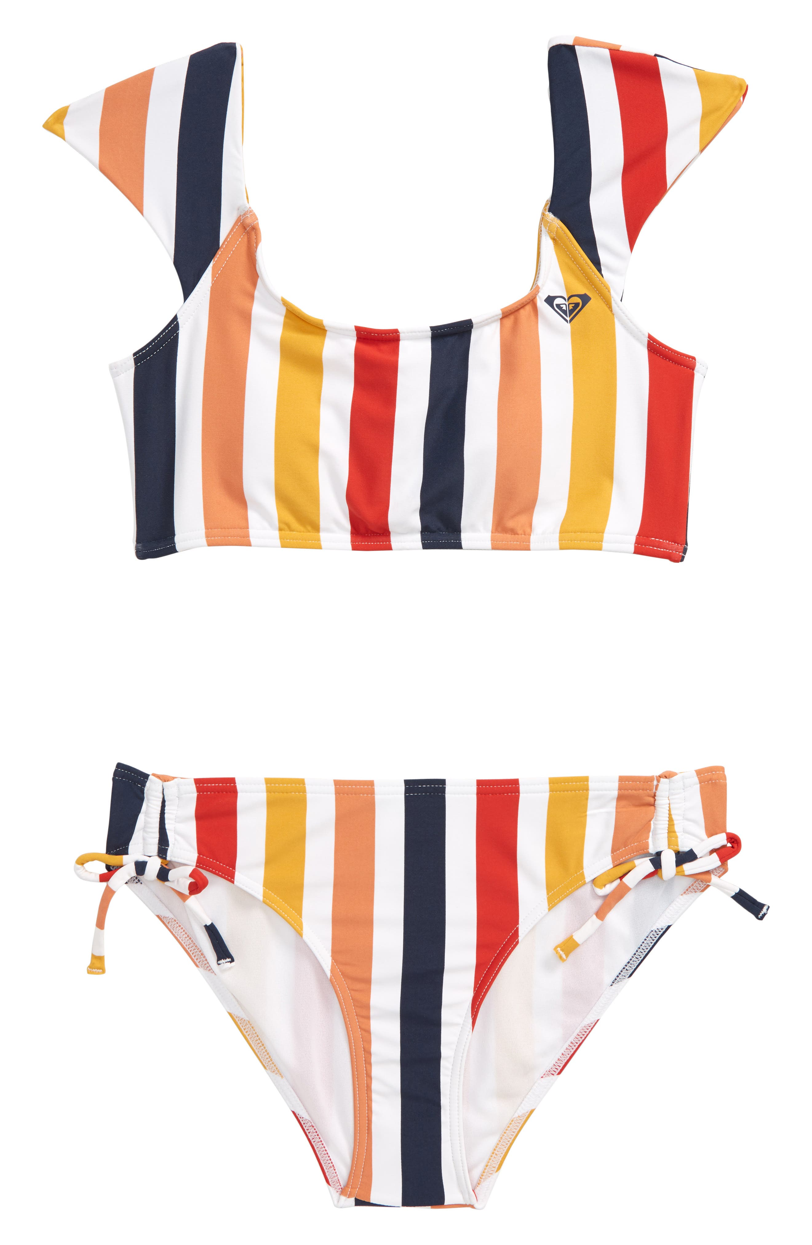 Roxy Girls Big Lovin Tee Bra Swim Set