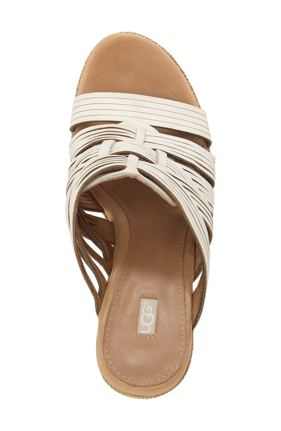 ,                             'Melinda' Platform Wedge Sandal,                             Alternate thumbnail 7, color,                             143